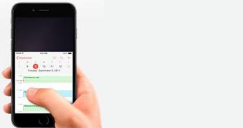 Hoe uw iPhone 6 Plus met één hand besturen?